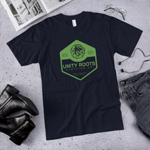 Mens Comb Green/Navy T-Shirt