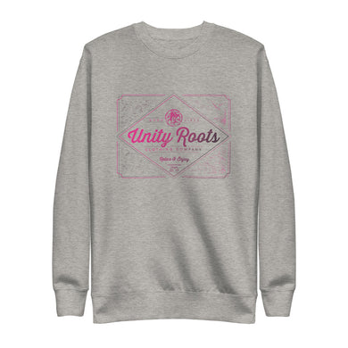 Ladies Pink Bourbon Fleece Pullover