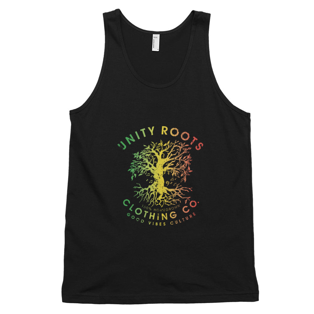 Mens Treetunes Rasta/Black Tank Top