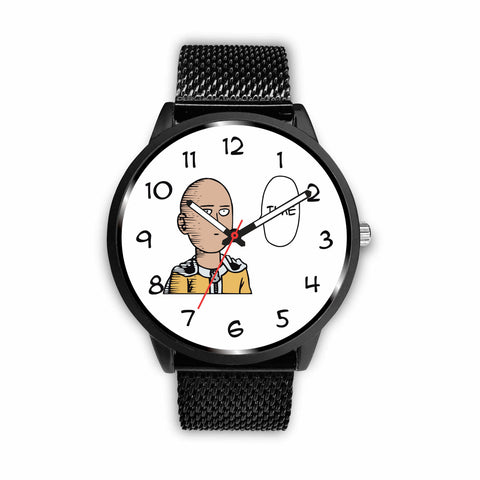 """Time"" One Punch Man Watch - GeekGarments"