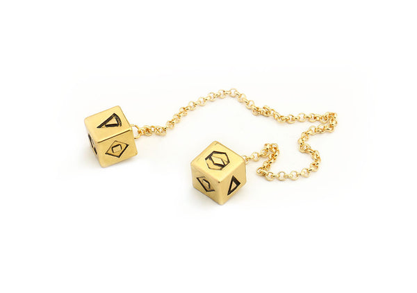 Han Solo's Lucky Gold Dice - GeekGarments