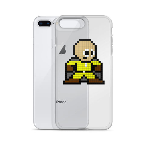 8 Bit One Punch Man iPhone Case - GeekGarments