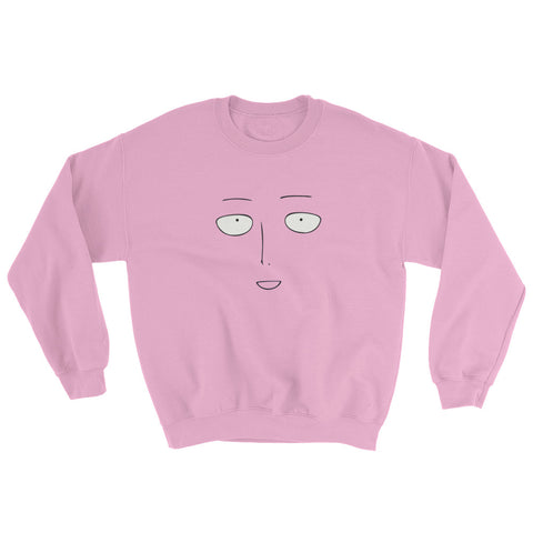 One Punch Man Face Sweatshirt - GeekGarments