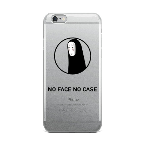 No Face Spirited Away No Case iPhone Case - GeekGarments