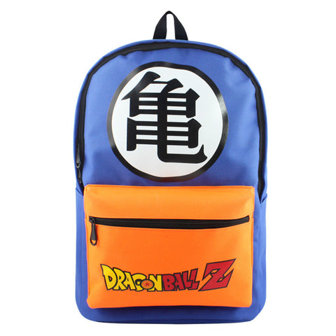 Dragon Ball Z Blue and Orange Backpack - GeekGarments