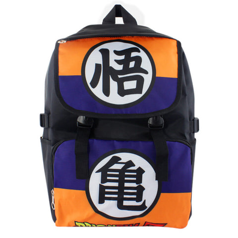 Dragon Ball Z Blue/Orange Backpack - GeekGarments