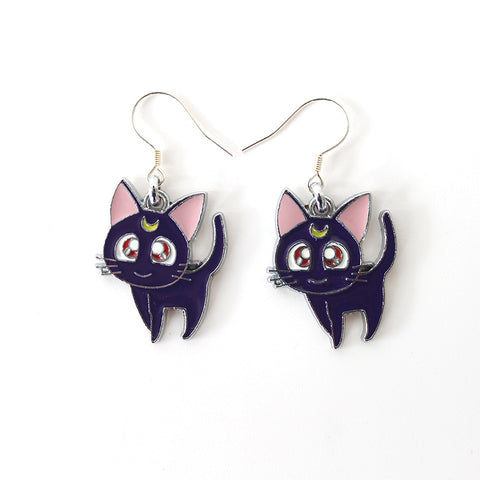 Sailor Moon Cat Earrings - GeekGarments
