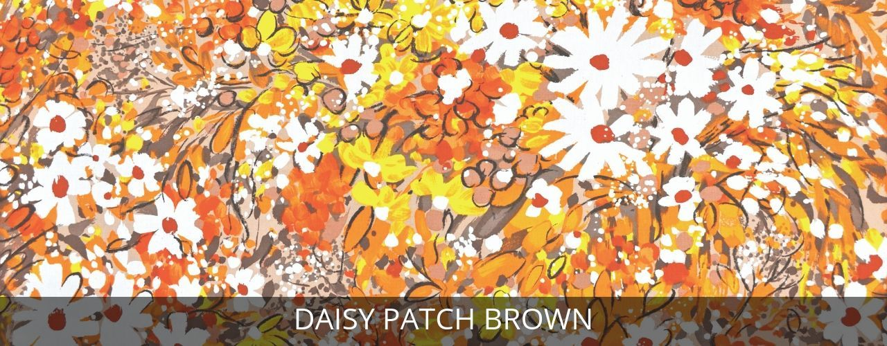 Daisy Patch Brown