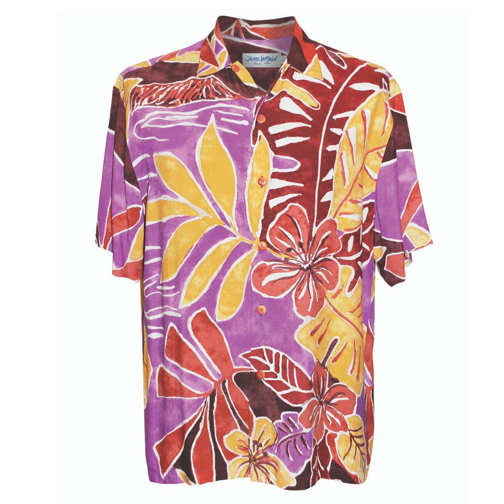 Men's Retro Shirt - Beach Walk - jamsworld.com