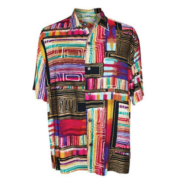 Men's Retro Shirt - Cyberspace - jamsworld.com