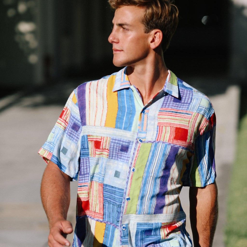 Men's Retro Shirt - Bedspread - jamsworld.com
