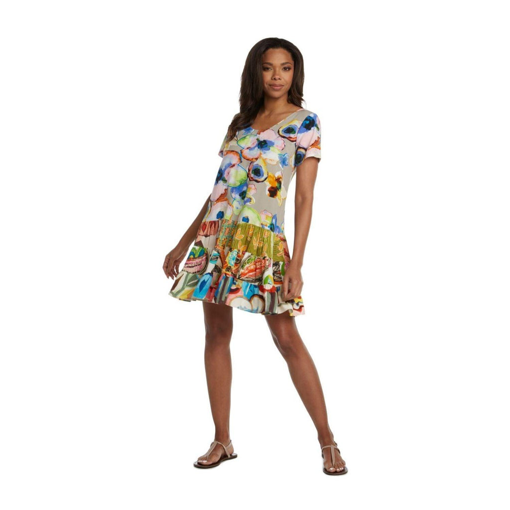 Hattie Dress - Mystic Pond - jamsworld.com