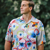 Men's Retro Shirt - Mystic Pond - jamsworld.com