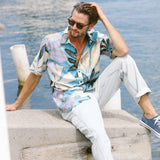 Men's Archival Collection Modern Fit Shirt - Sapphire Reverse - jamsworld.com