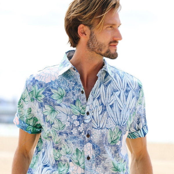 Men's Archival Collection Modern Fit Shirt - Bamboo Reverse - jamsworld.com