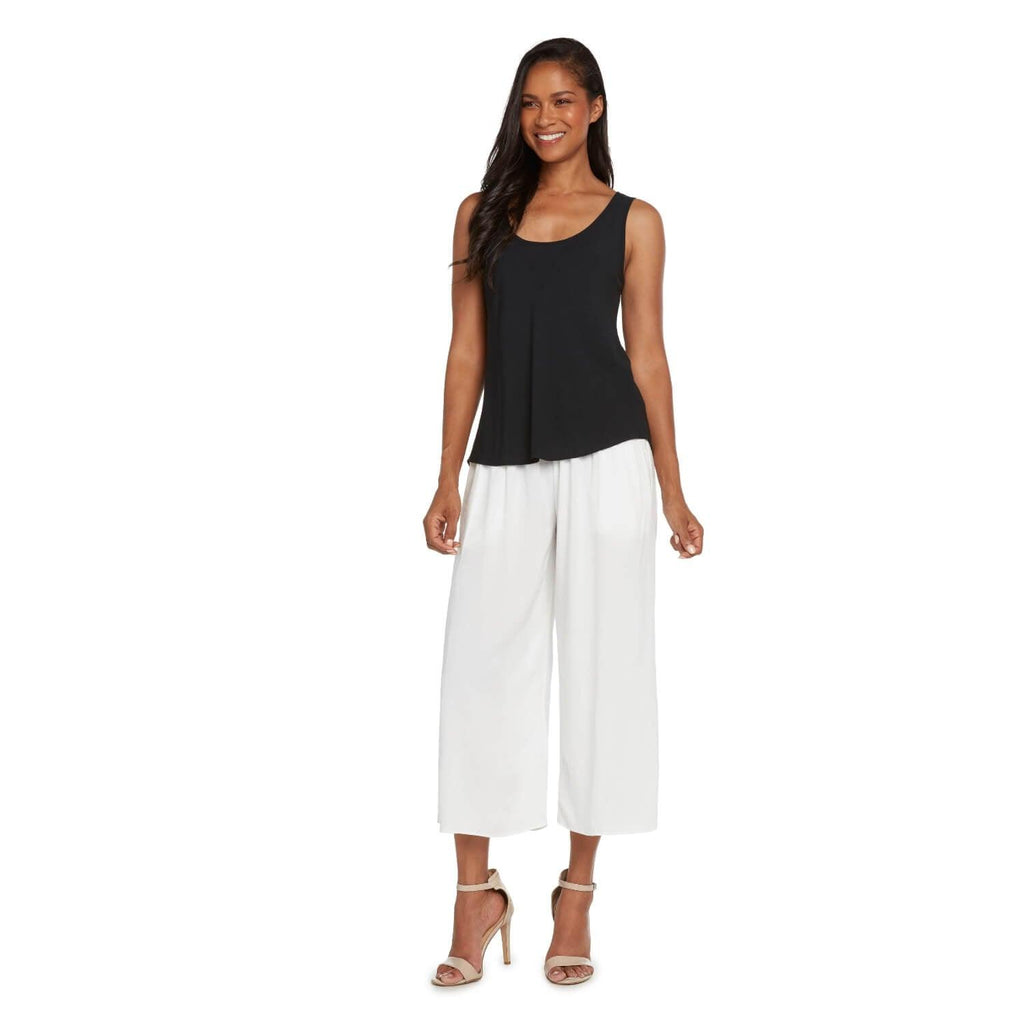 Solid Wide Leg Crop - White - jamsworld.com
