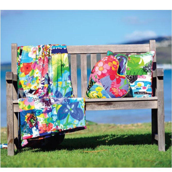 Maxi Mix Throw - Assorted Patchwork - jamsworld.com