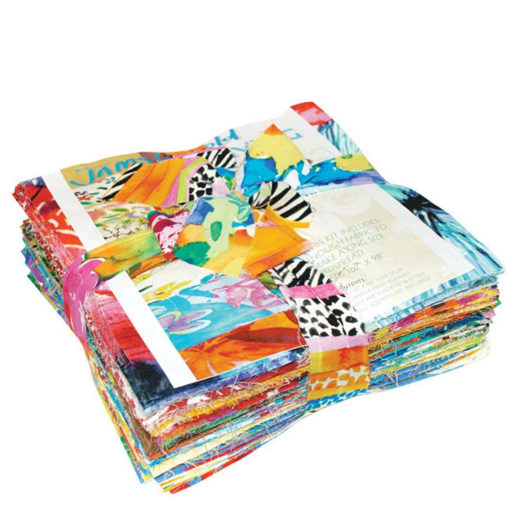 Patchwork Throw Quilt Kit
