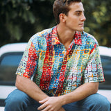 Men's Retro Shirt - Road Trip