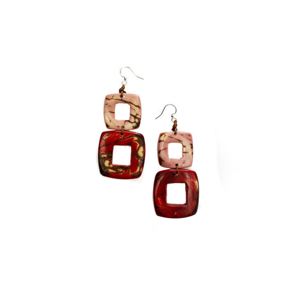 Tagua Nut - Katrina Earrings