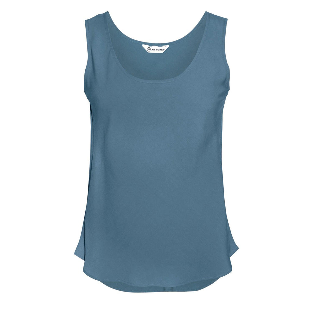 Solid Tank Tops - Slate