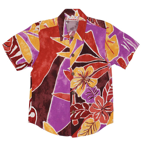 Boys Retro Shirt XS(4/5 - L(12/14) - Beachwalk