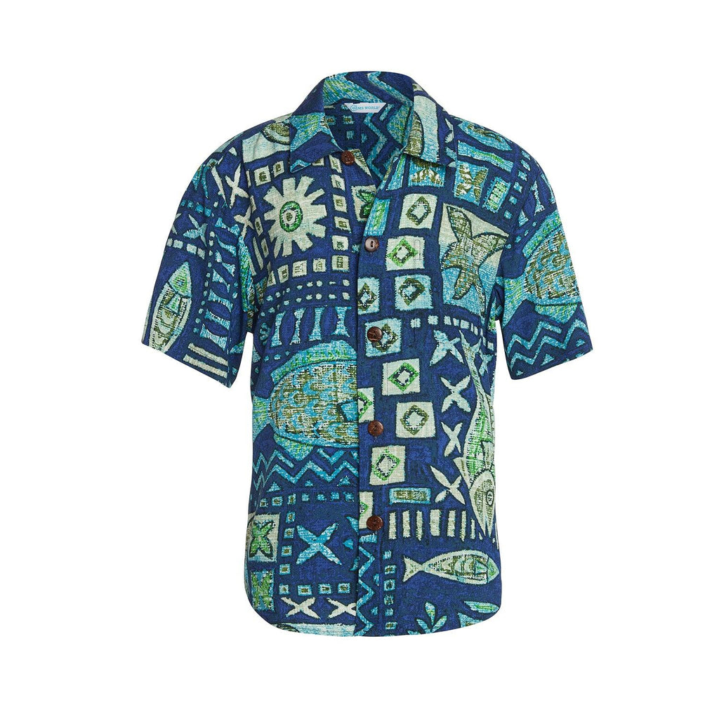 Boys: XS(4/5 - L(12/14) Shirt - Anahola Bay - jamsworld.com