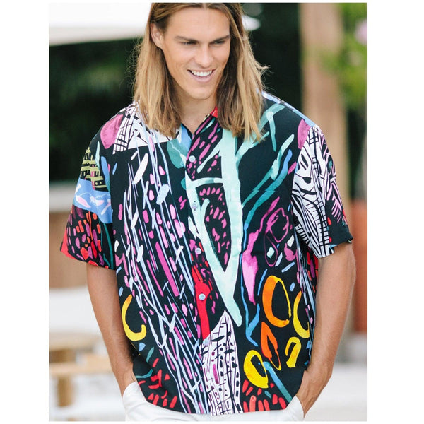 Men's Retro Shirt - Illusion - jamsworld.com