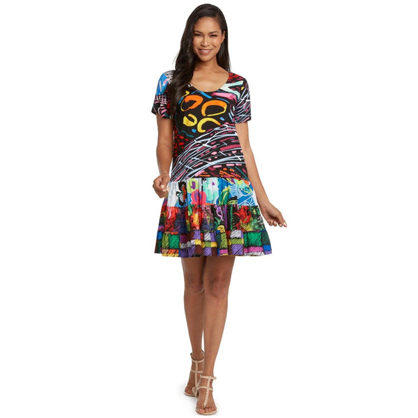 Hattie Dress - Illusion - jamsworld.com