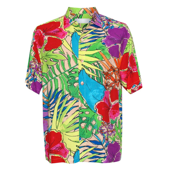 Men's Retro Shirt - Paradise - jamsworld.com