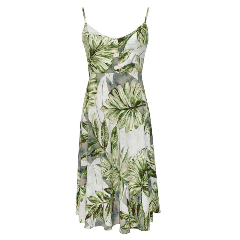 Eden Dress - Kona Coast Olive - jamsworld.com
