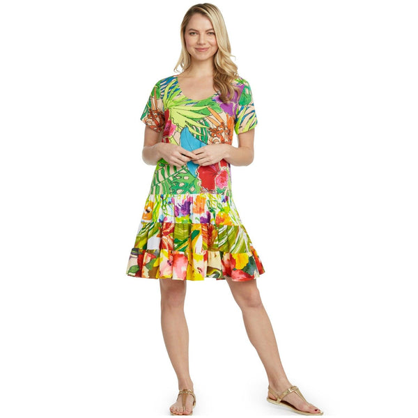 Hattie Dress - Paradise - jamsworld.com