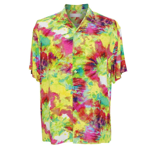 Men's Retro Shirt - Green Flash - jamsworld.com