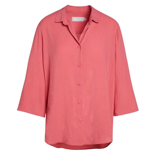 Solid Coastal Tunic - Guava