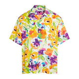 Men's Retro Shirt - Flower Dream - jamsworld.com