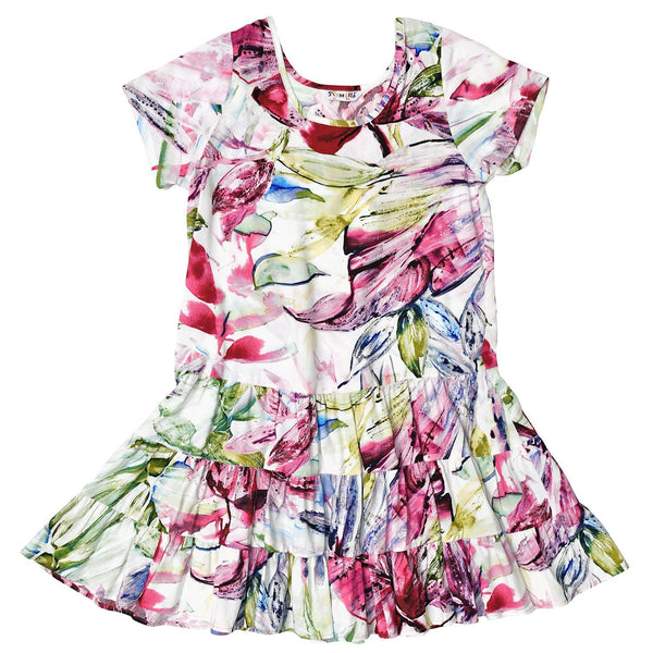 Girls' Hattie Dress - Wind Palm - jamsworld.com
