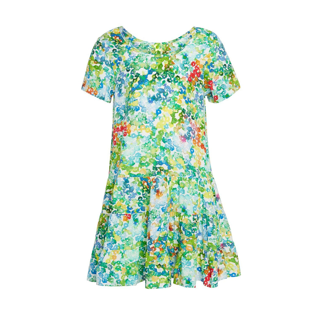 Girls Hawaiian Hattie Dress - Bevy :  XS(4/5) - L(12/14) - jamsworld.com