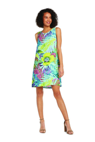 Jackie Dress - Rain Tropic