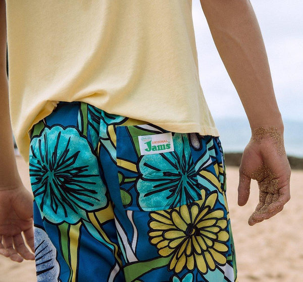 Men's Jams Pants - Laguna Blue - Surf Line Hawaii
