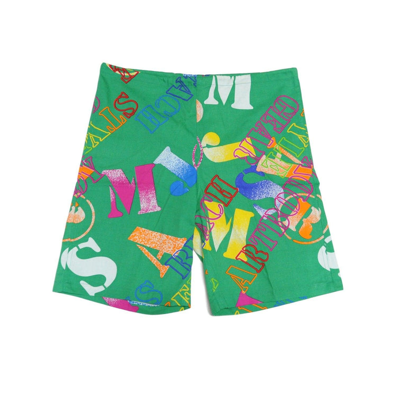 Jambes originales pour hommes - Street Become Life Green - Surf Line Hawaii