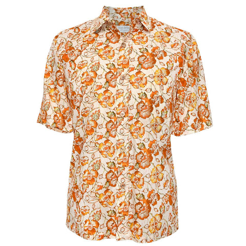Men's Cotton Shirt - Pop Cotton Gold