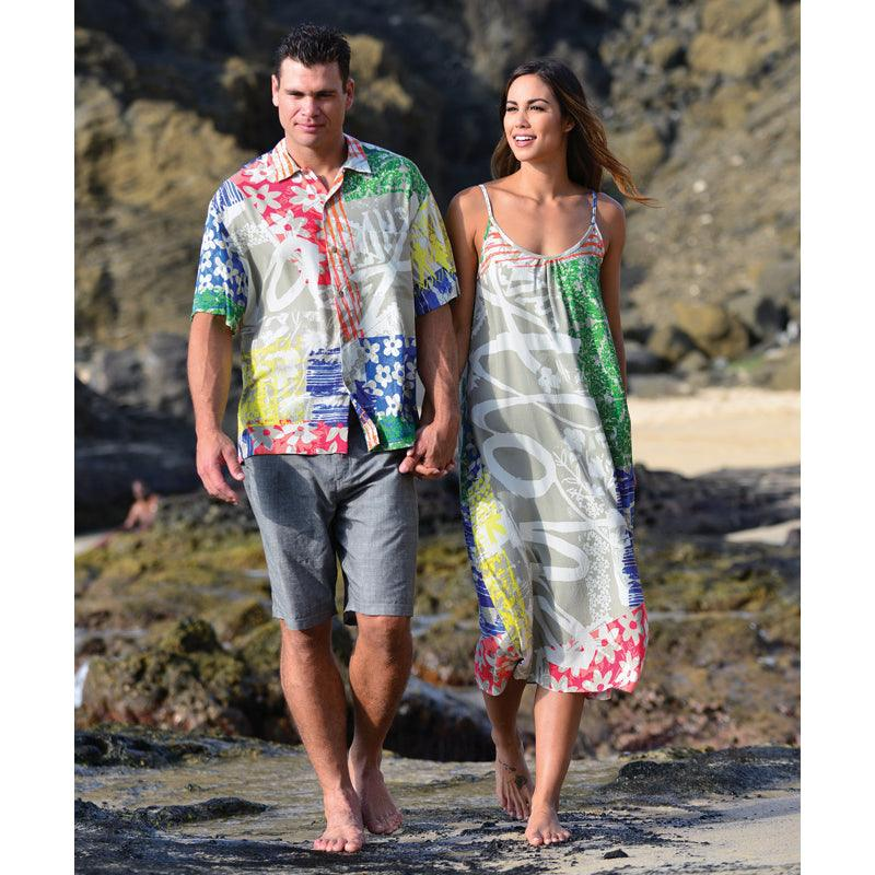 Men's Retro Shirt - Aloha - jamsworld.com
