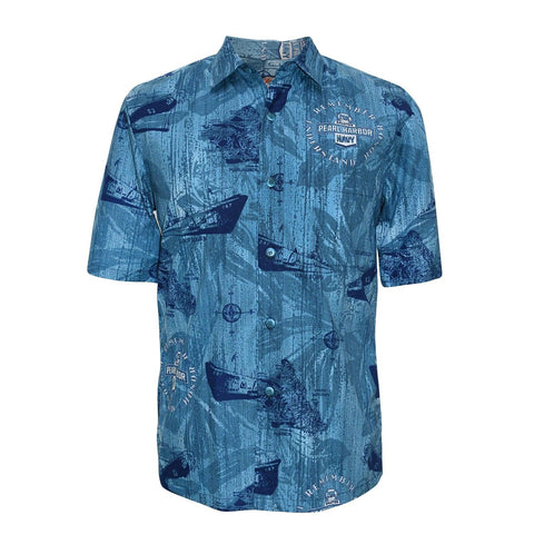 Men's Cotton Shirt - Pearl Harbor
