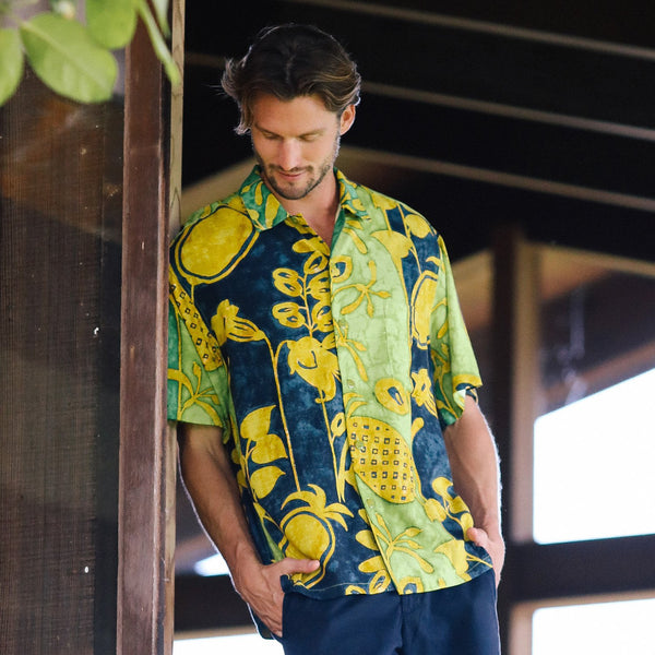 Men's Retro Shirt - Pineapple Patch - jamsworld.com