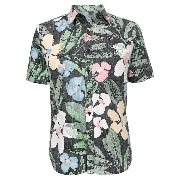 Men's Archival Collection Modern Fit Shirt - Fleur Noche Reverse