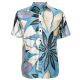 Men's Archival Collection Modern Fit Shirt - Sapphire Reverse
