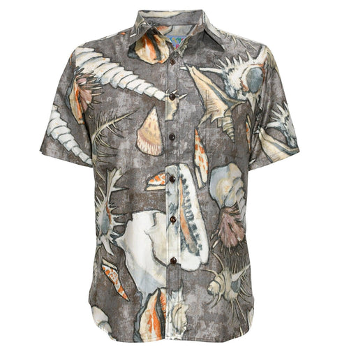 Men's Archival Collection Modern Fit Shirt - Seashore Mocha Reverse - jamsworld.com