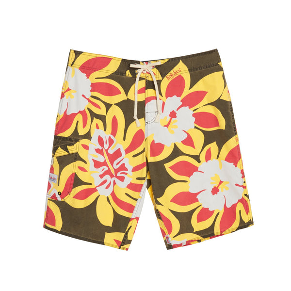 Surf Line Boardshorts - Monstera Black - jamsworld.com