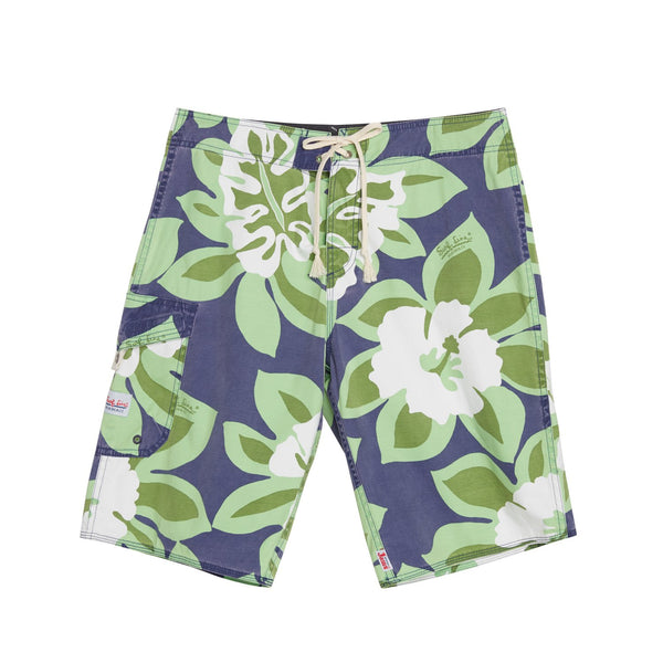 Surf Line Boardshorts - Monstera Blue - jamsworld.com