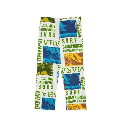 Men's Jams Pants - Surf Contest White